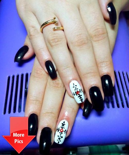 Christmas Nail Art Designs Youtube More Pictures Click Her Flickr