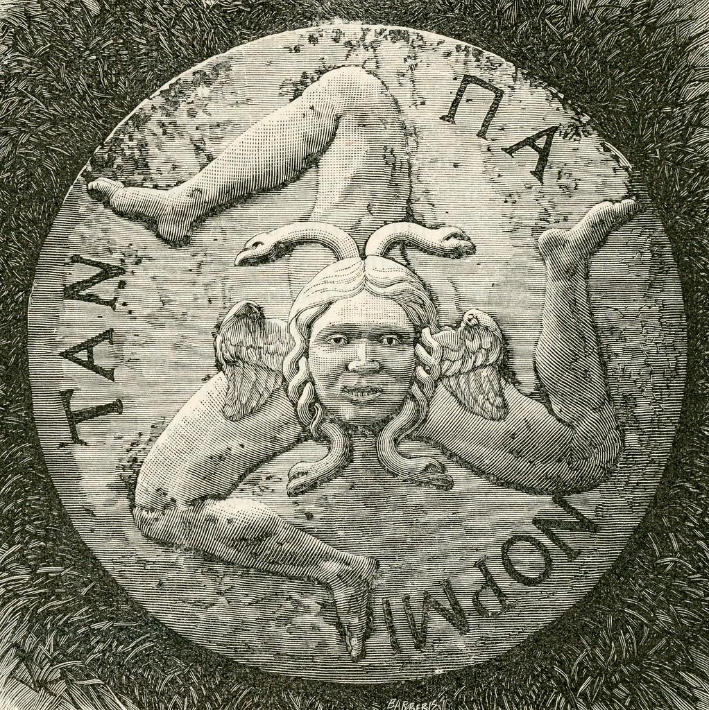 Triskele Trinacria Symbol Of Sicily Triscele Symbol O Flickr