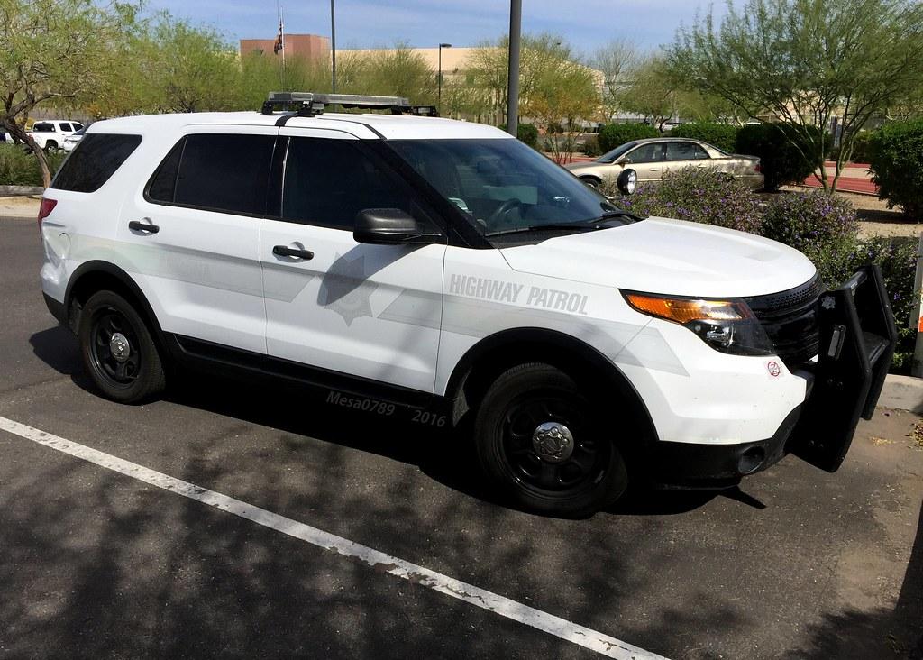 Arizona State Troopers DPS Highway Patrol Ford Explorer  Flickr