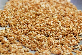 Lightly Toasted Sesame Seeds Far | by Chris Mower