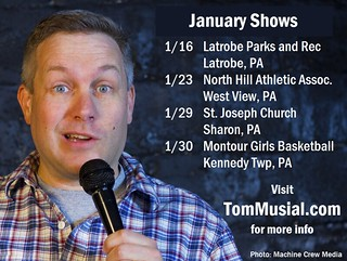 2016.01.Shows | by Tom Musial Comedy