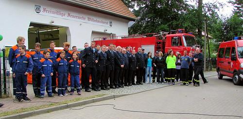 Sommerfest & Tag der offenen Tür der Feuerwehr Wilhelmhorst 2014