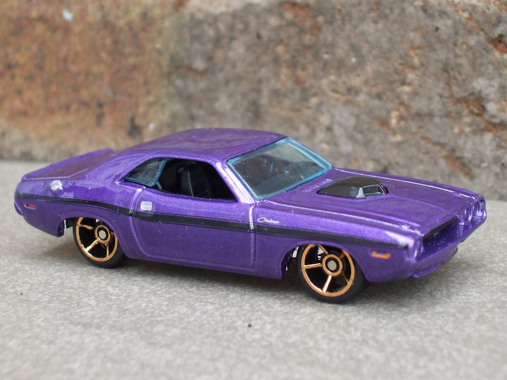 Hot Wheels Dodge Challenger Muscle Car Metallic Purple Flickr