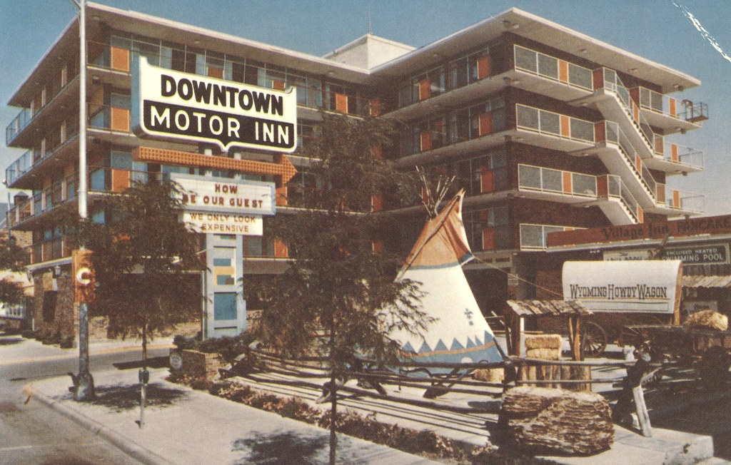 The Downtown Motor Inn - Cheyenne, Wyoming