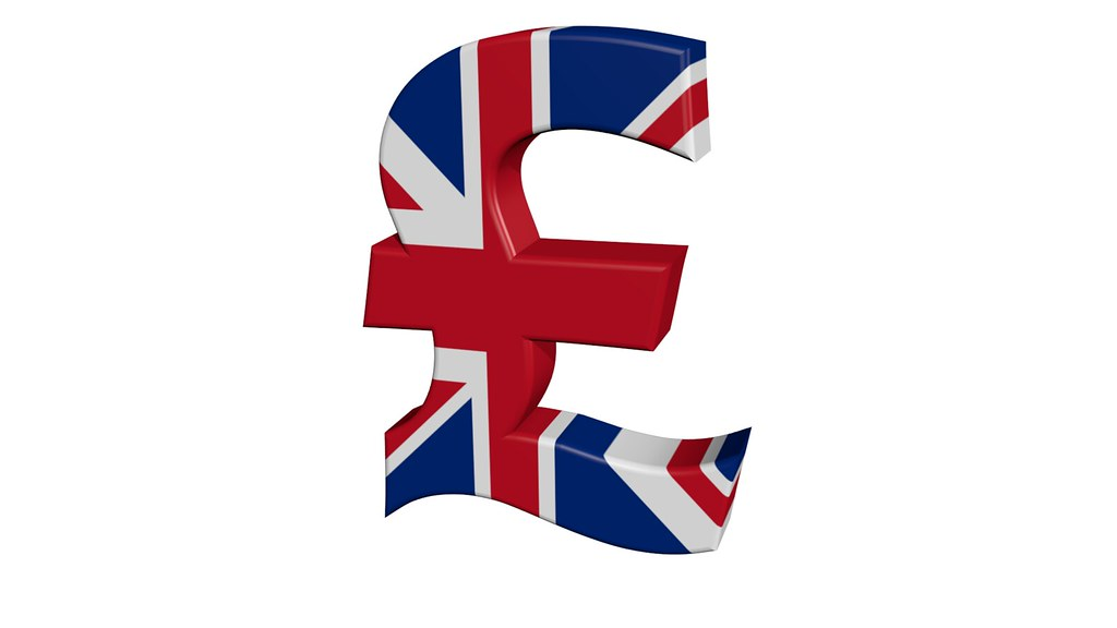 British Pound Sign 3d Pound Sign Covered By Union Jack On Flickr