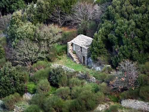 Ikaria's remotest hinterland 10 - traditional, fenced and protected, by angelos ka on Flickr
