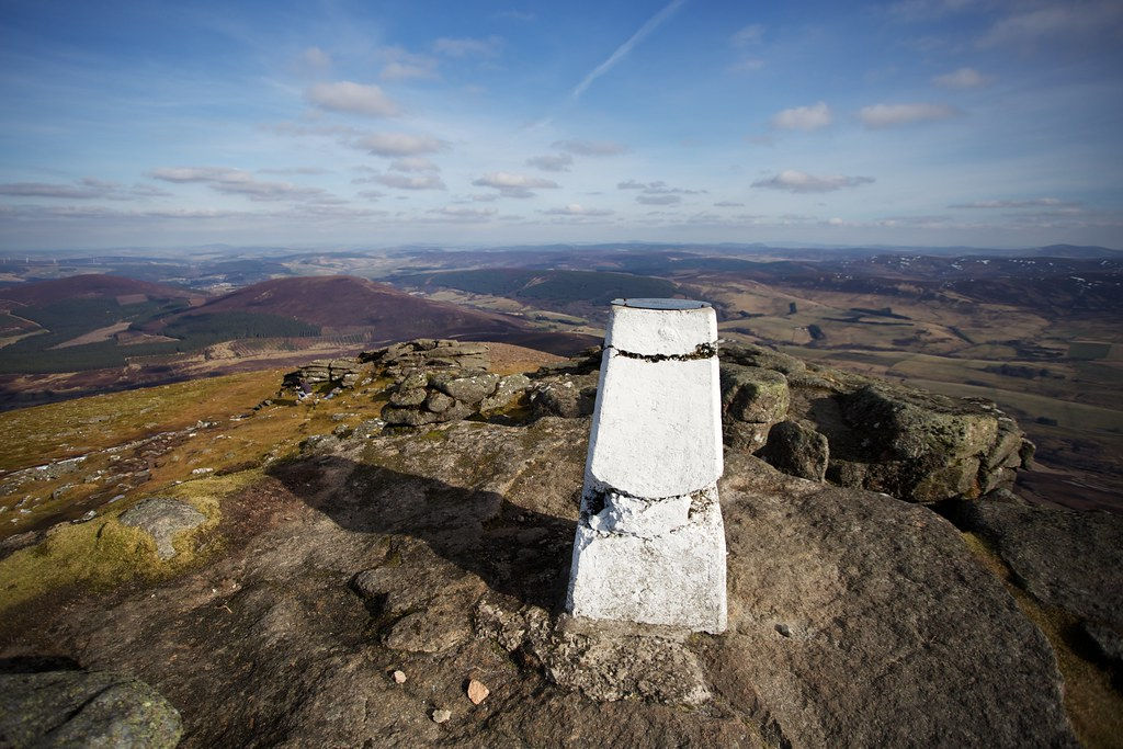 Ben Rinnes Summit Trig