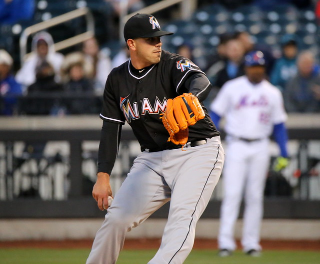 Jose Fernandez pitches vs. Mets