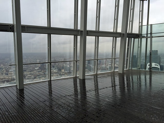 Wet day up the Shard | by diamond geezer