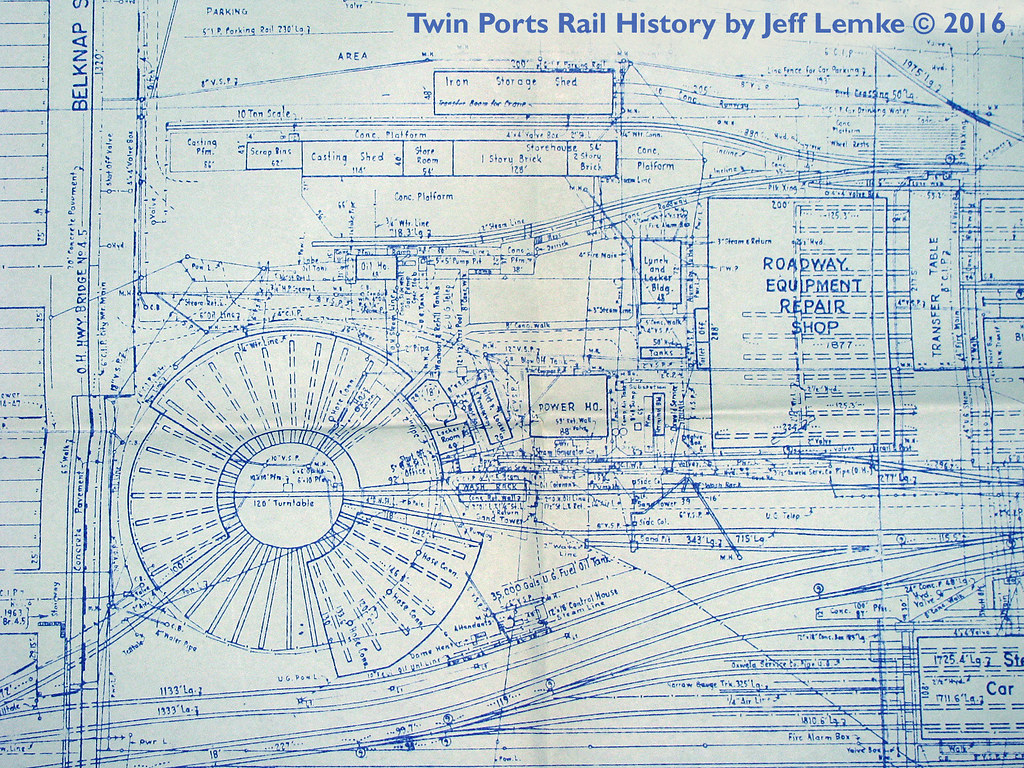 Gn belknap street roundhouse blueprint 1969 plans and blue flickr gn belknap street roundhouse blueprint 1969 by twin ports rail history malvernweather Choice Image