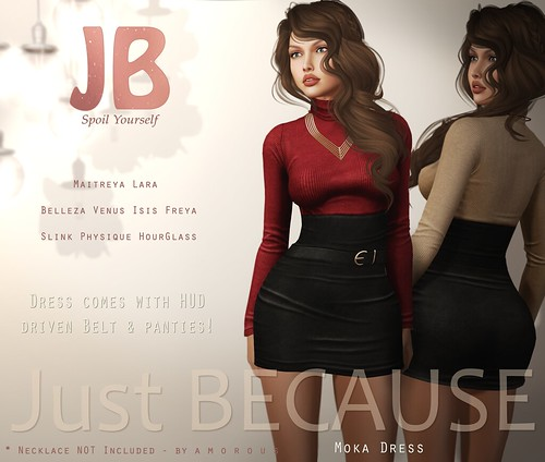 Just BECAUSE - Moka Dress | by Just BECAUSE_SL