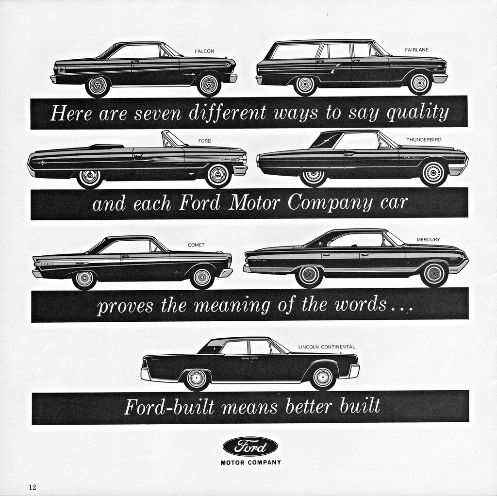 1964 Ford Motor Company Cars Alden Jewell Flickr