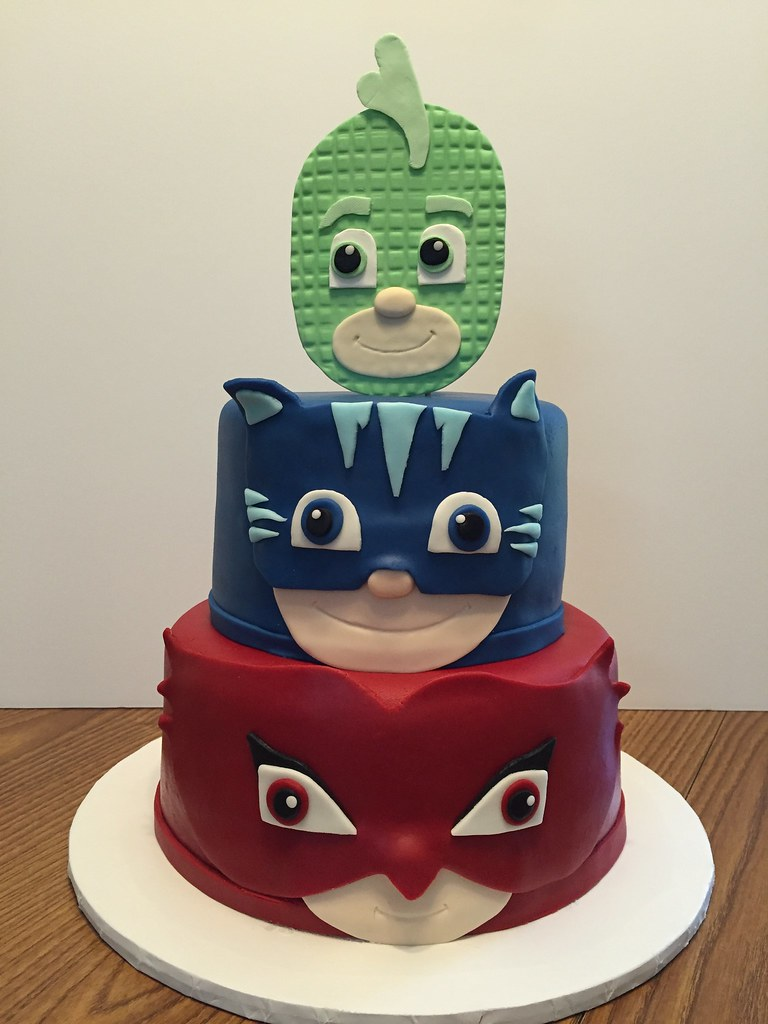 Pj Masks Birthday Cake Dms81 Flickr
