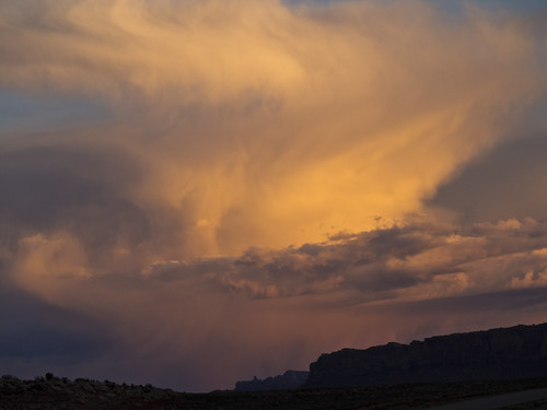 Sunset Cloud, Bar M, Grand Co, UT | by Ranger Robb