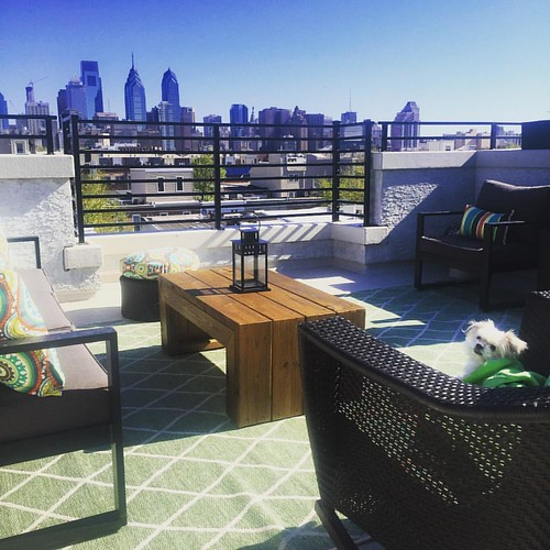 Best seats in the house! #decklife #summersmine #spring2016 #summer2016 | by PhillyHero