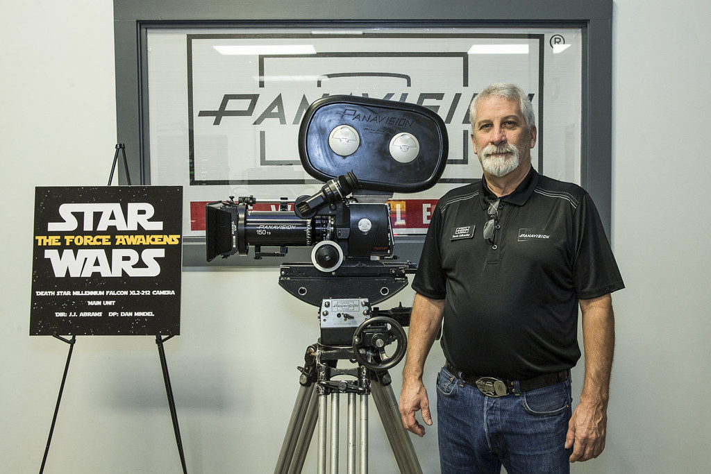 Panavision Camera Star Wars : Panavision light iron nola grand opening kevin gilhoolu flickr