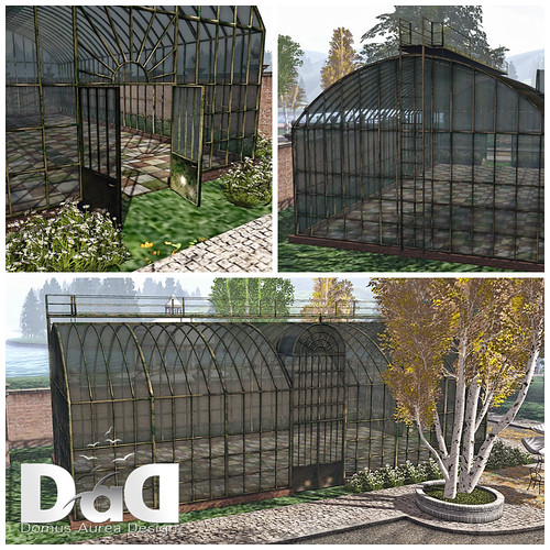 Antique Iron GreenHouse Collage | by Sheerpetal Roussel - DaD DESIGN