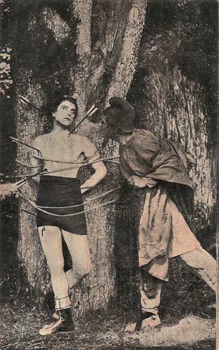 Livio Pavanelli and Amleto Novelli in Fabiola