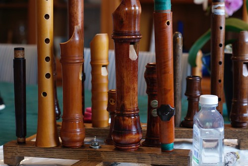 Freshly Oiled Recorders | by susanvg