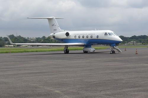 NASA-Gulfstream in Gabun | Auch NASA-Wissenschaftler sind ...
