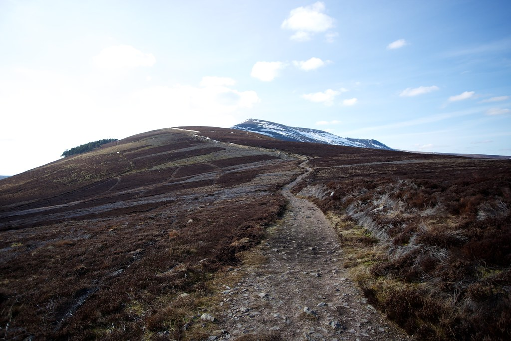 The track to Ben Rinnes