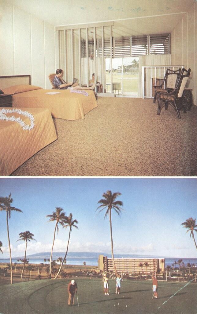 The Kaanapali Hotel - Lahaina, Maui, Hawaii