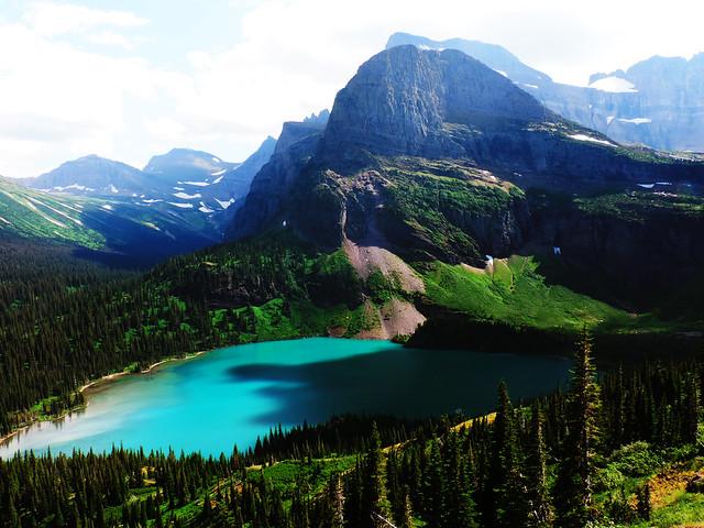 Grinnell Glacier Trail, Glacier NP, Montana, USA