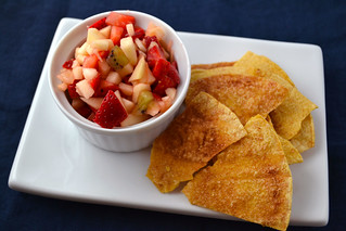 Strawberry-Salsa-Cinnamon-Chips | by Farm Fresh To You -