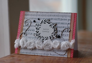 Hello Lovely Card | by Sara Scraps