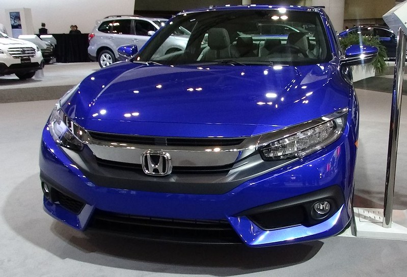 2016 Honda Civic at 2016 CIAS
