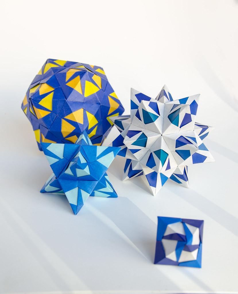 New origami book modular origami kaleidoscope kusudama flickr kusudama by ekaterina new origami book modular origami kaleidoscope kusudama by ekaterina jeuxipadfo Gallery