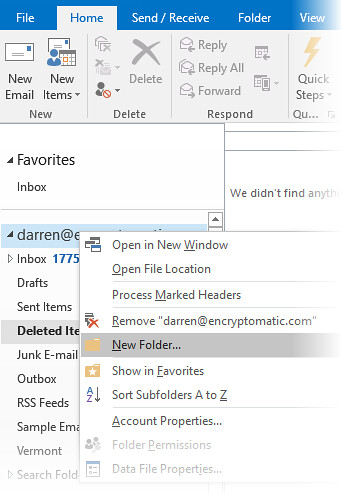Outlook Pst File Folders | by Encryptomatic