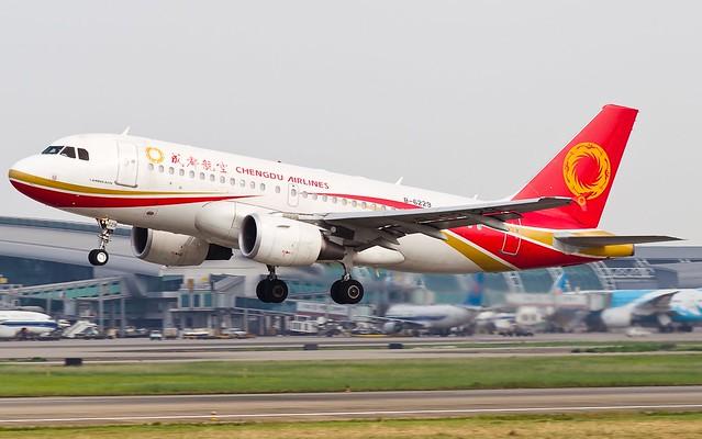 A.319-112 C.n 2762 'B-6229' Chengdu Airlines