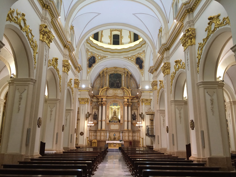 Six Churches in Lorca, Murcia, SPAIN