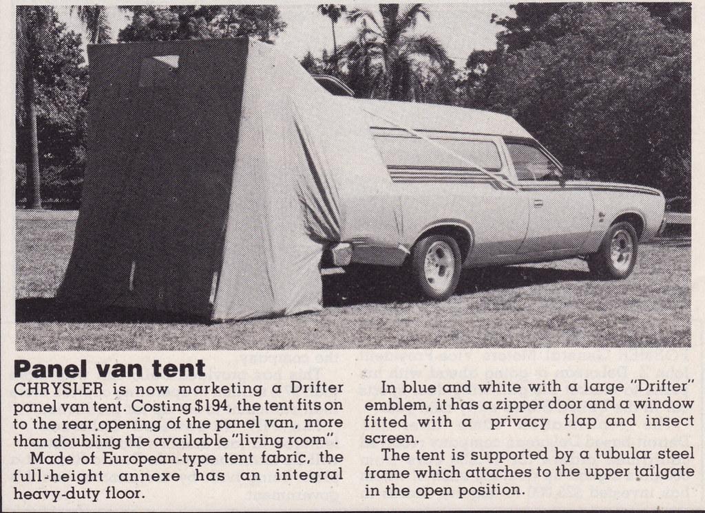 ... 1978 Chrysler CL Valiant Drifter Van Tent Article - Australia | by Five Starr Photos ( & 1978 Chrysler CL Valiant Drifter Van Tent Article - Austrau2026 | Flickr