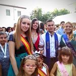 Fiestas 2015 - Rey, Reina y Damas