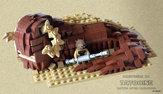 Somewhere On Tatooine - Bantha After Sandstorm 00 | by kocurvelox