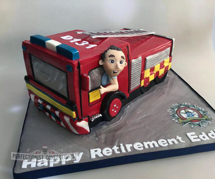 Fire Engine Birthday Cake PerfectionistConfectionist Flickr
