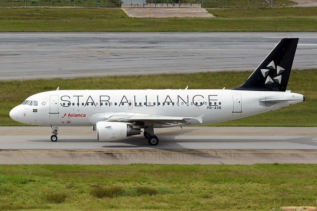 Avianca (Star Alliance) PR-AVB A319 @ GRU