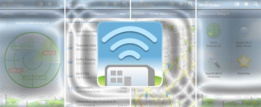 WiFi Finder APK 3 335p Android App Download Free   WiFi Find
