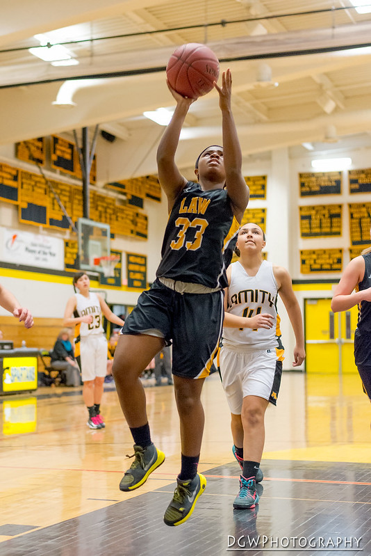 Jonathan Law vs. Amity High - High School Girls Basketball