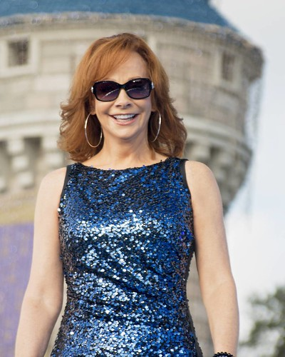 The beautiful miss Reba McEntire. I took this at the filmi ...