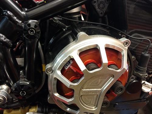 Ducati Clutch Cover Clear