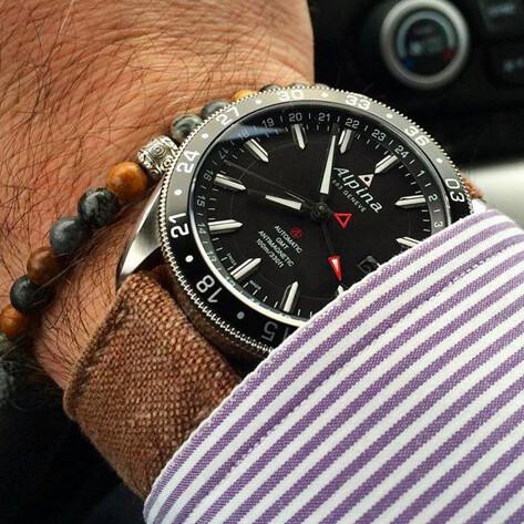 The Alpina Watches Alpiner GMT Ref ALGAQ Wwwalpi Flickr - Alpina gmt