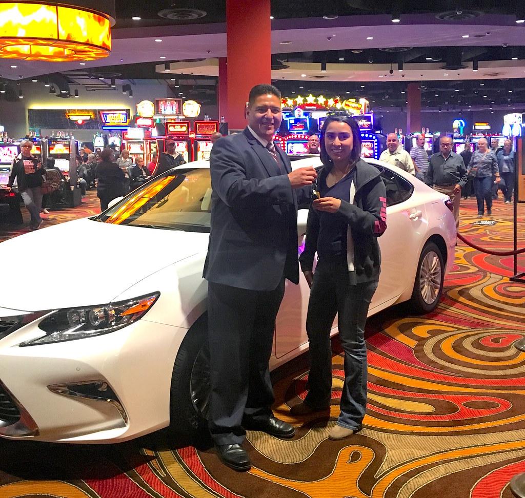 Lorena From Laredo Lexus ES Winner Congratulations T Flickr - Lucky eagle casino car show