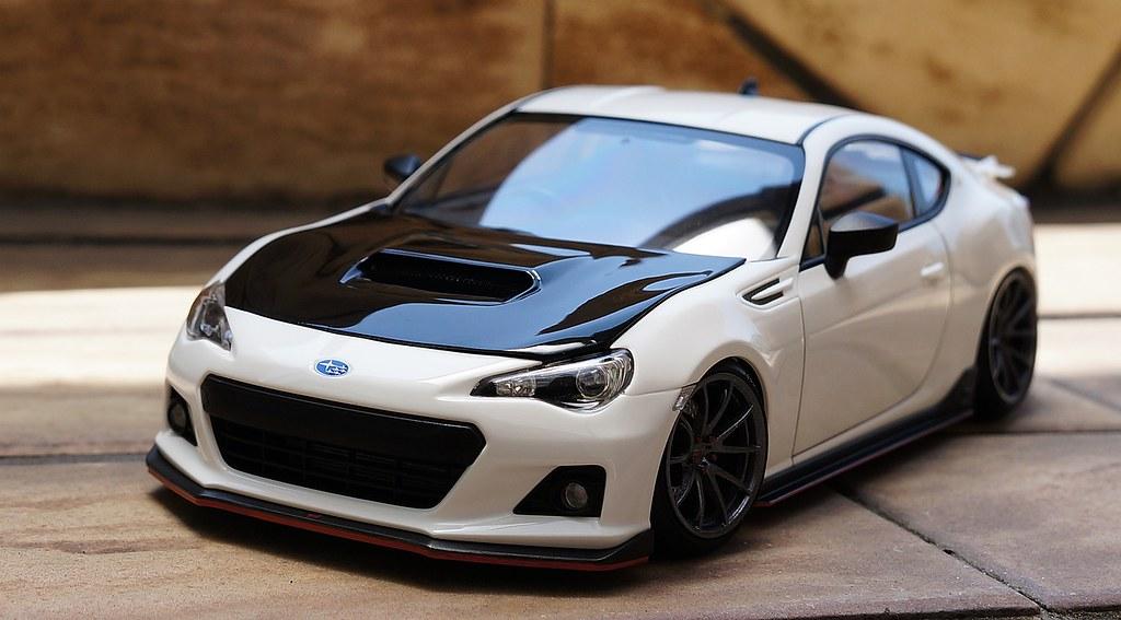 Tamiya Subaru Brz Street Custom Zeda Flickr