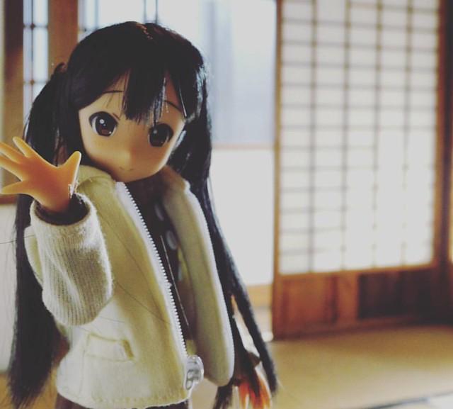 #ドール #和室 #あずにゃん #けいおん #doll #japan #azunyan