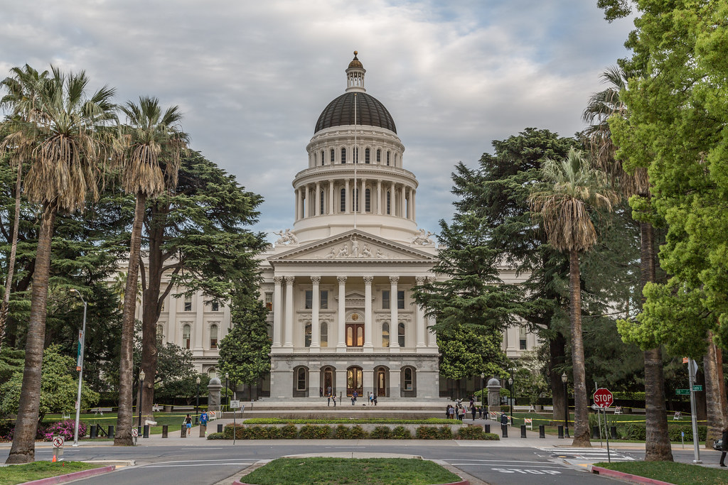 Image result for california state capitol building