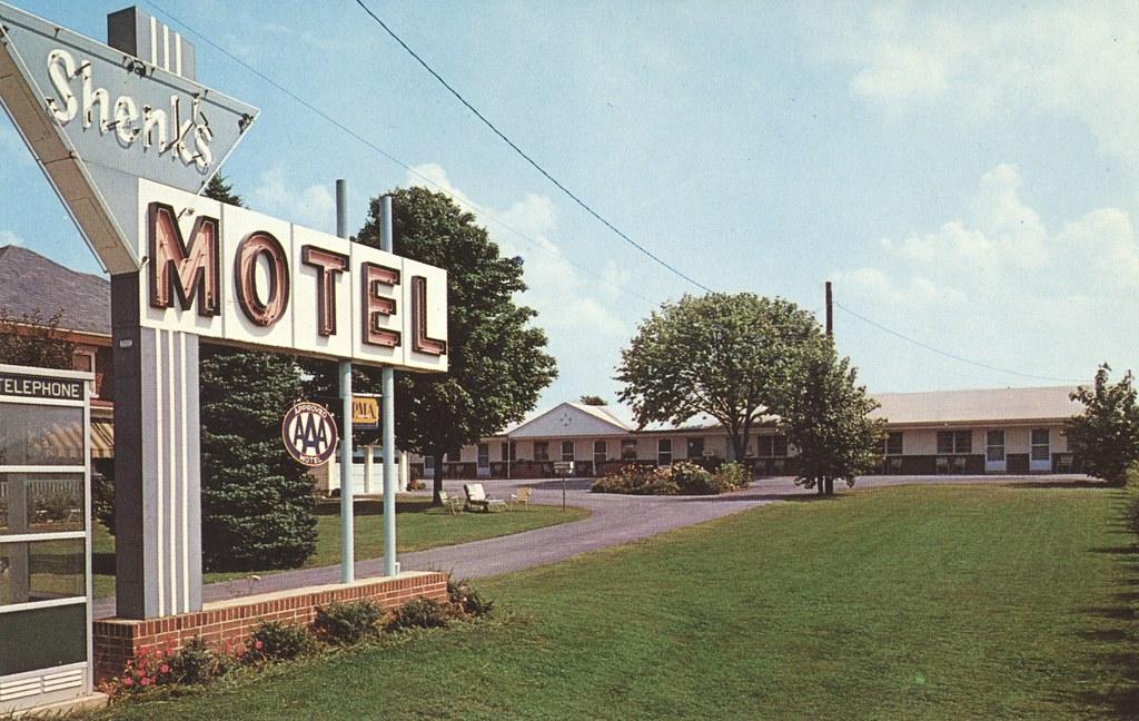 Shenk's Motel - Hershey, Pennsylvania