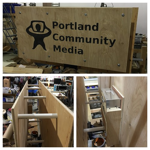 Portland Community Media TV Shroud | by Kiet Callies